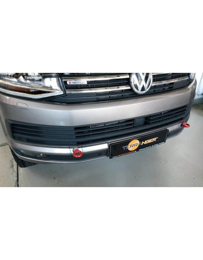 TERRANGER verstärkte Abschleppösen, vorne, passend für VW T6