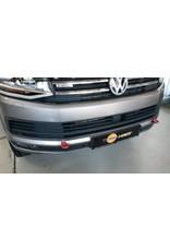 Einbau der verstärkten Abschleppösen, vorne, passend für VW T5/6