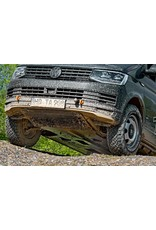 Installation of reinforced towing hooks, front, suitable for VW T5/6