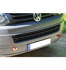 reinforced towing hooks, front, suitable for VW T5