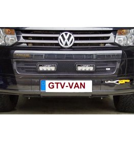 Radiator grill insert kit with LAZER ST-4 EVO high performance LED headlamps, for VW T5.2