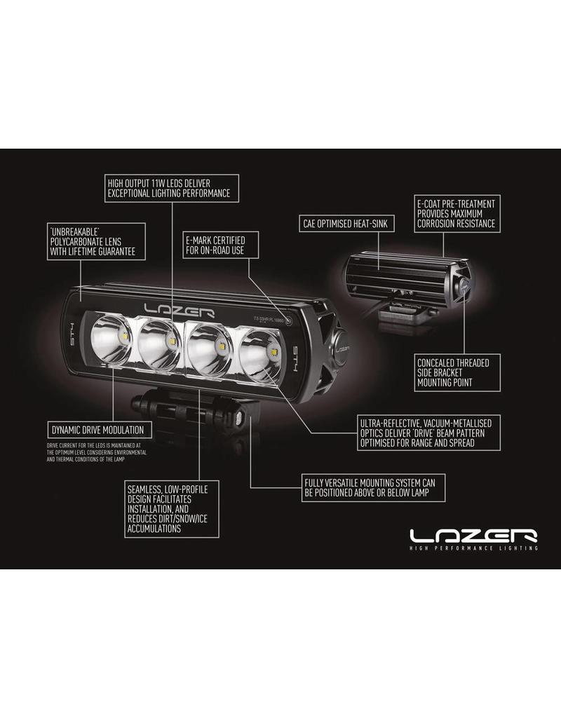 LAZER LED Fernlicht Einbausatz für FORD TRANSIT 2015+