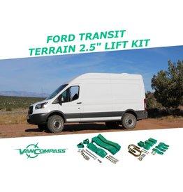 "FORD TRANSIT 2WD Komplettset 2.5"" Fahrwerkshöherlegung"