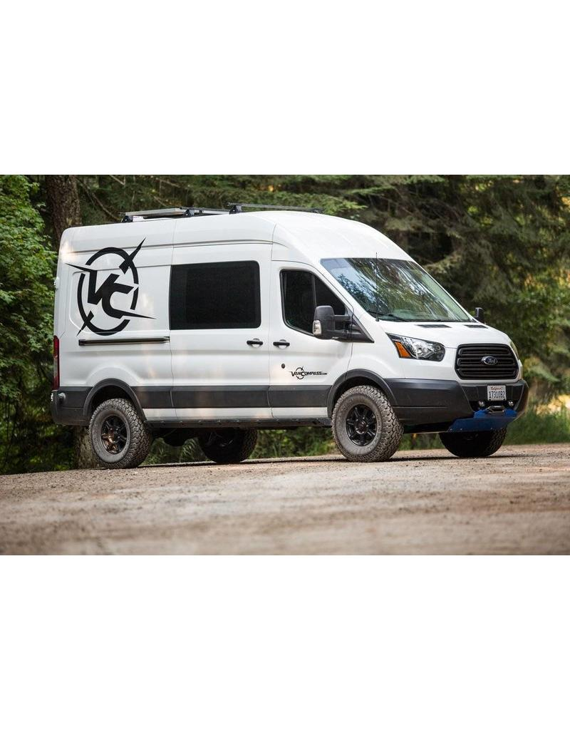 "VAN COMPASS™ FORD TRANSIT 2014+ 2WD 2.5"" SUSPENSION LIFT SYSTEM TERRAIN"