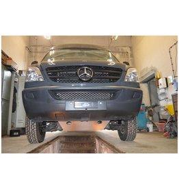 Aluminium-skid plate /engine protection for Mercedes Sprinter II/III (906) 4x4