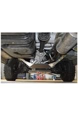 Einbau: Mercedes Sprinter 906 4x4 Unterfahrschutz Verteilergetriebe