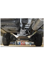 Installation Sprinter 906 4x4 Aluminium-protection/ skid plate for transfer case
