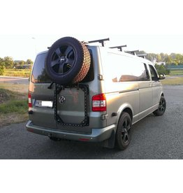 "VW T5/6 rear LEFT door carrier system ""modular"""