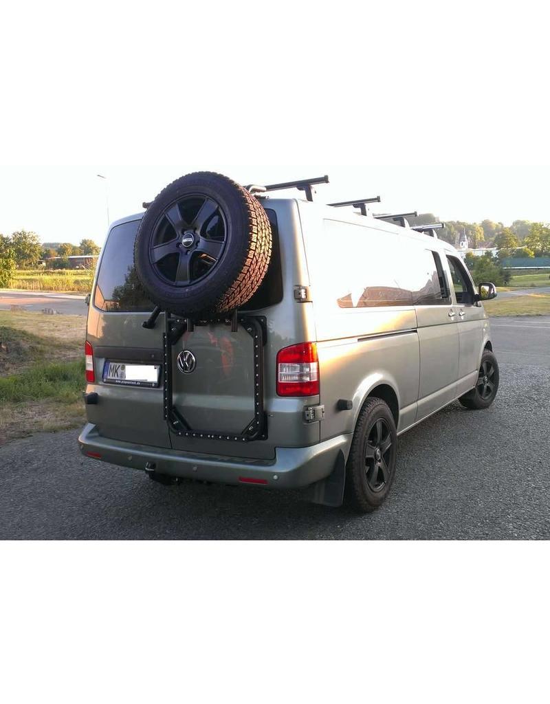 VW T5/6 rear LEFT door carrier system