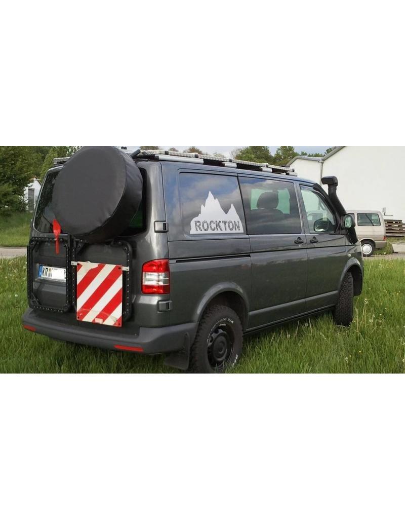 "VW T5/6 Hecktür RECHTS Trägersystem ""modular"" für Ersatzrad, Kanister, usw."