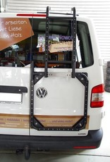 """Installation of the VW T5/6 rear hinge door carrier system """"modular"""""""
