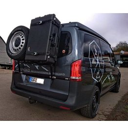 "Rear carrier ""modular"" for carrying spare wheel, canister, etc. Mercedes VITO/VIANO 447"