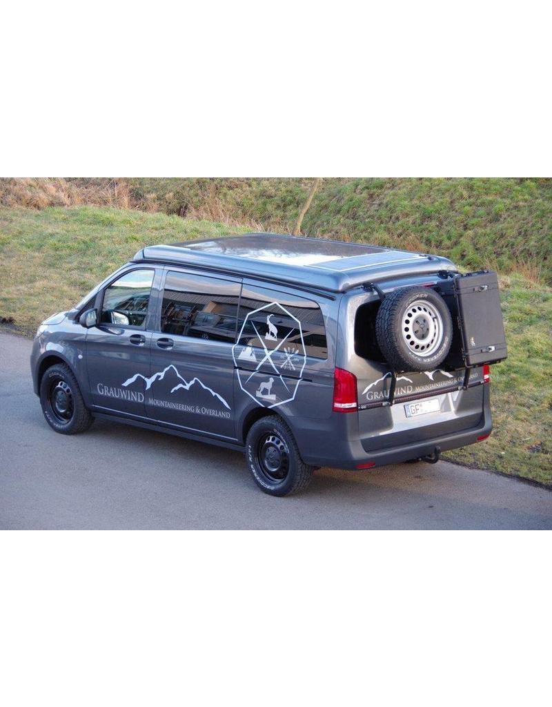 Rear are wheel, canister, etc. Mercedes VITO/VIANO 447