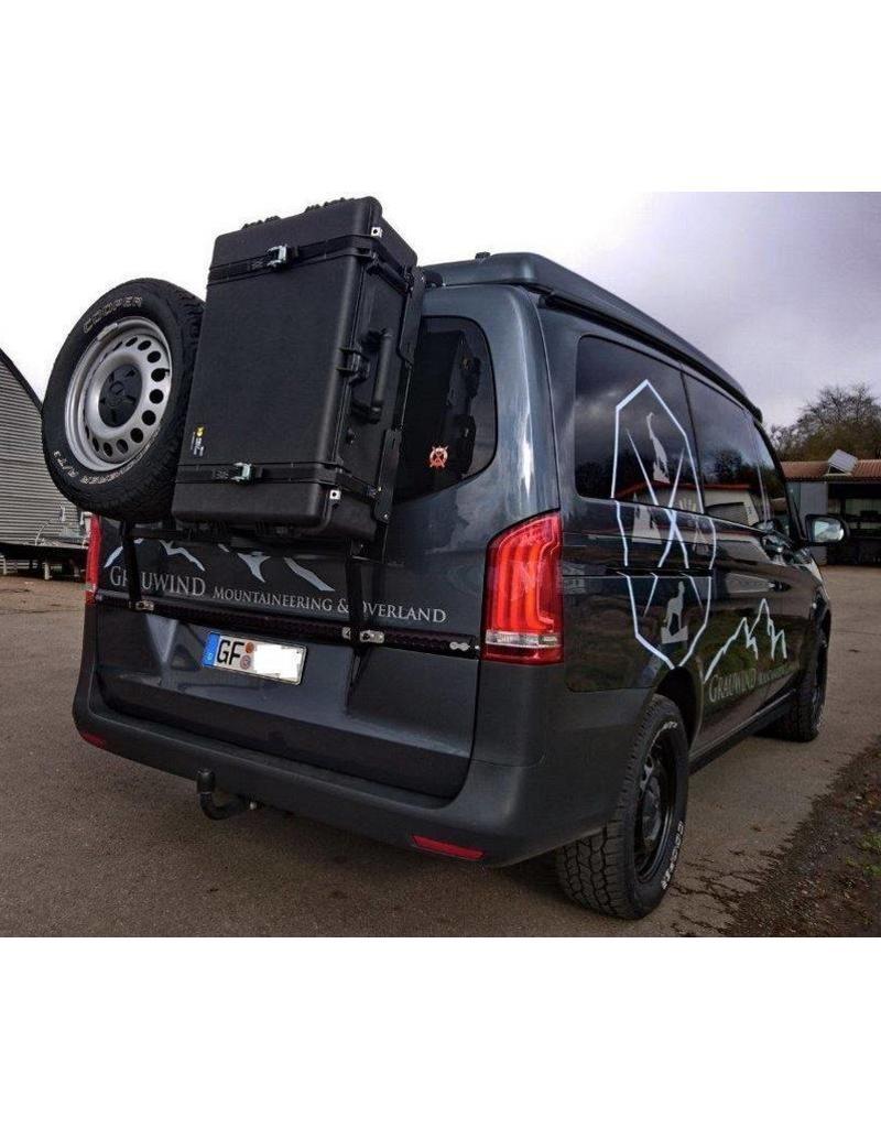 """Montage: système porte-bagage-hayon """"modulaire"""" Mercedes VITO/VIANO"""