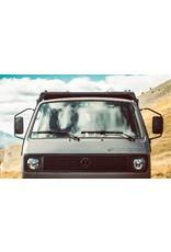 GTV-GMB VW T3 galerie de toit modulaire - kit complet recouvert de poudre noire