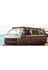GTV-GMB VW T3 modular roof rack system - complete kit black powder coated