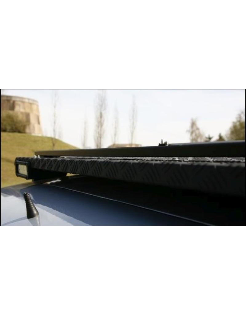 rail de chargement  - aluminium recouvert de poudre noire