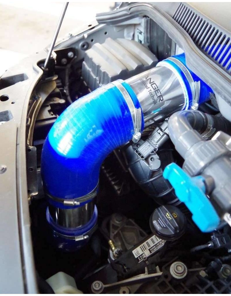 installation of TERRANGER elevated engine air intake, for VW T6