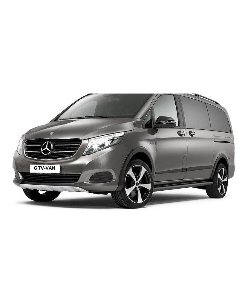 Protection d'ailes  roue pour Mercedes 447/enjoliveurs de passage de roue pour Mercedes 447