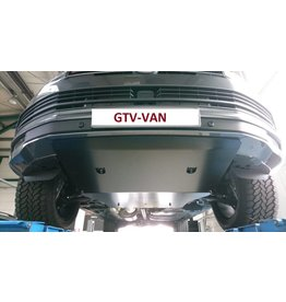 VW T6 black protection for engine and gearbox