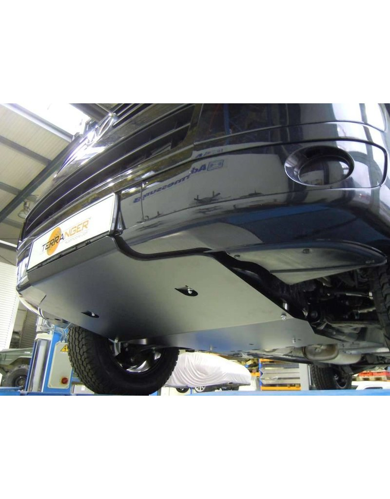 VW T5.2 black powder coated protection for engine and gearbox