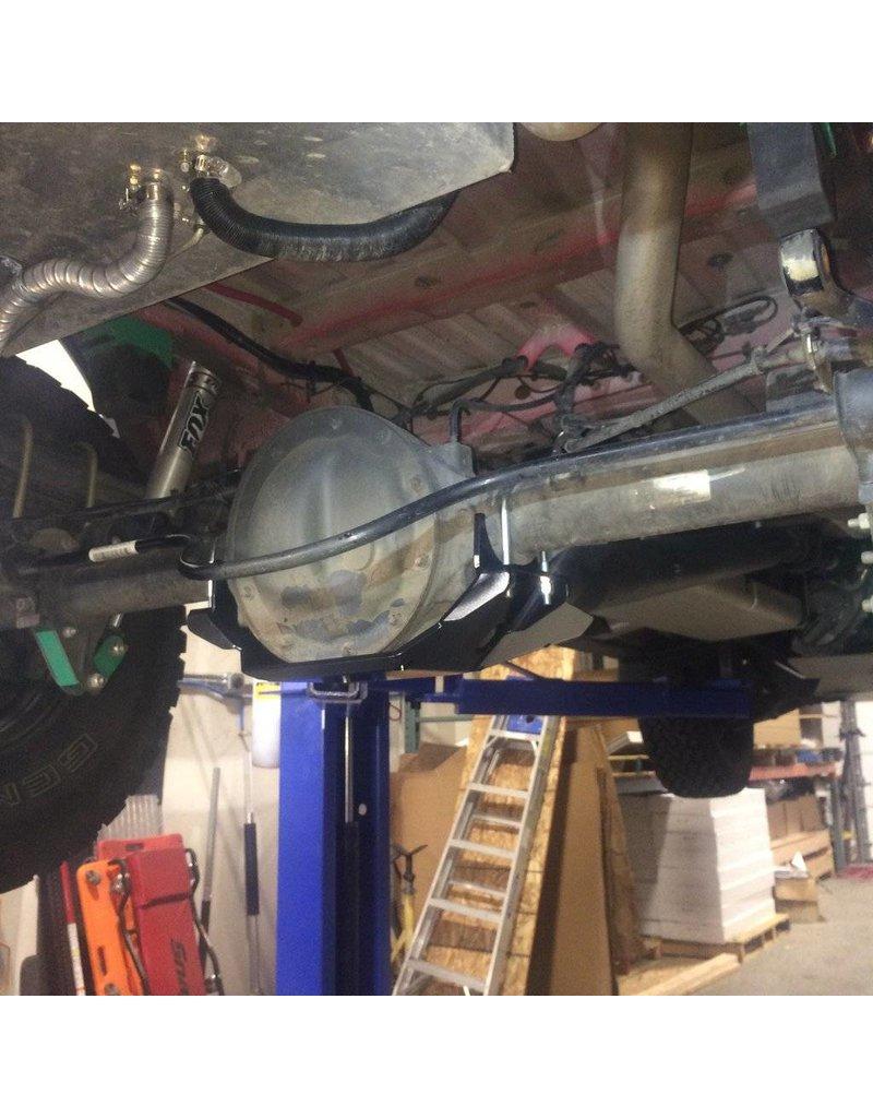 VAN COMPASS Mercedes Sprinter 906  4x4 Ski de protection nez de pont arrière acier 5mm