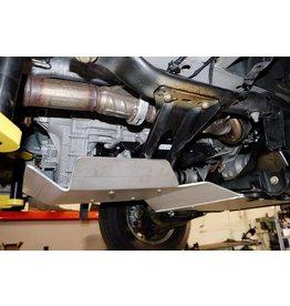 Mercedes Sprinter 906 4x4 Ski de protection transmission et Boite de transfert alu 6 mm