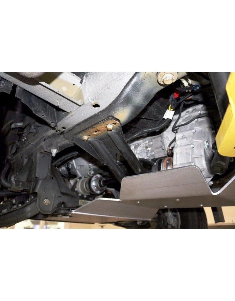 VAN COMPASS Mercedes Sprinter 906  4x4 Ski de protection transmission et Boite de transfert alu 6 mm