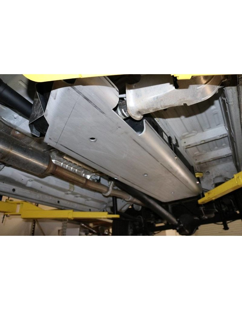 VAN COMPASS Mercedes Sprinter 906 4x4 Aluminum-protection/ skid plate for fuel tank