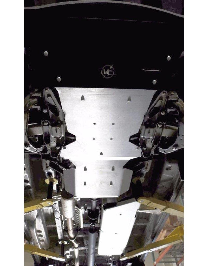 VAN COMPASS Mercedes Sprinter 906 4x4 Ski de protection réservoir alu 6mm