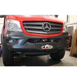 MERCEDES SPRINTER  906  FRONT WINCH BUMPER HIDDEN WINCH MOUNT