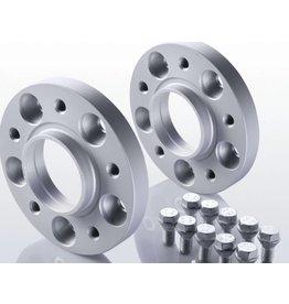 2 élargisseurs de voie à 15 mm (acier)