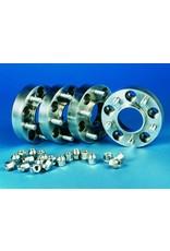 2 wheel spacers 15 mm (aluminum)