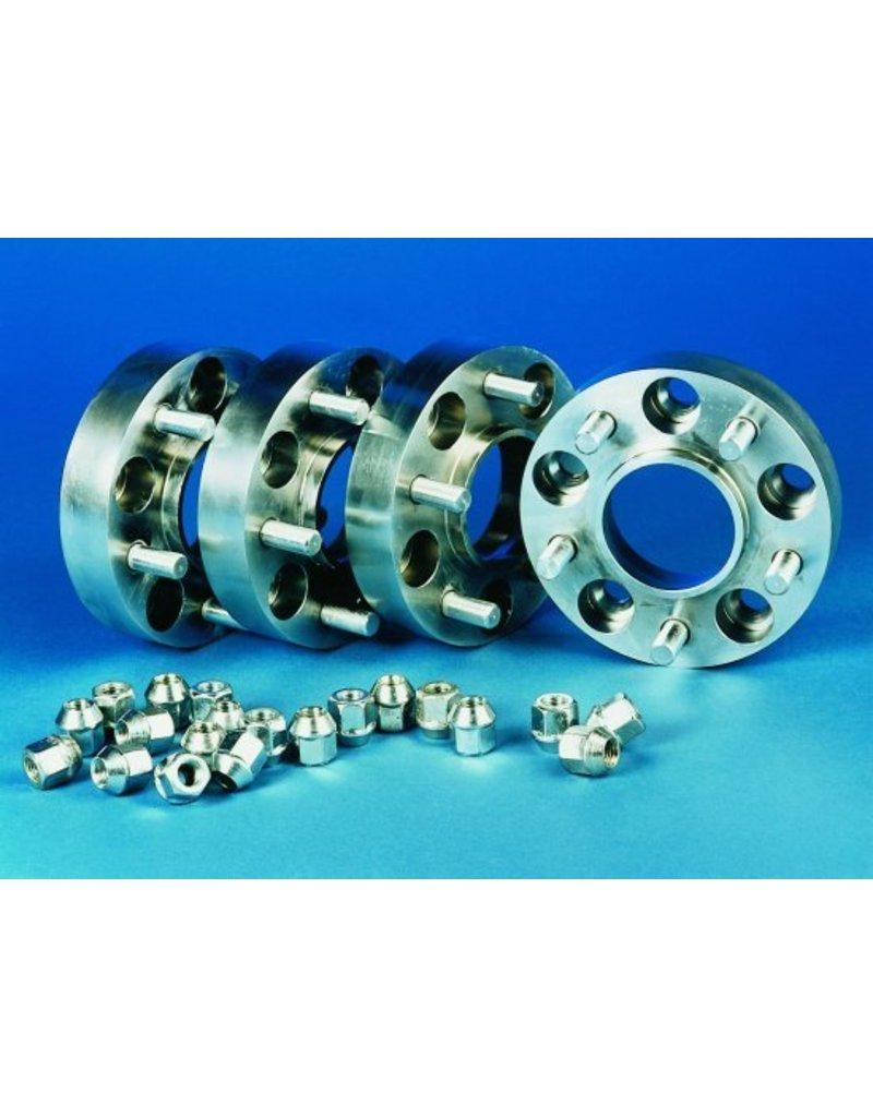 2 Stahl Spurverbreiterungen à 22 mm  5x130 M14x1,5