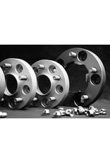2 élargisseurs de voie à 25 mm (aluminium) 6x130 M14x1,5