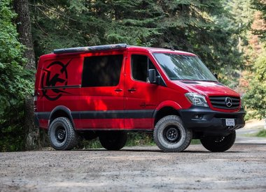 Mercedes Sprinter Off road parts - GTV-VAN