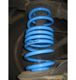 pair of reinforced rear springs for VITO/VIANO 639