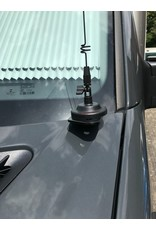 VAN COMPASS HOODLINE LIGHT POD MOUNT Sprinter 906 - Support de lampe ou antenne CB pour capot moteur