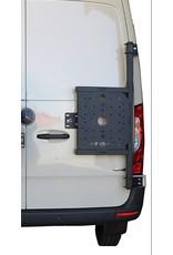 Mercedes Sprinter 907 -  universal carrier system on right back door (180°door)