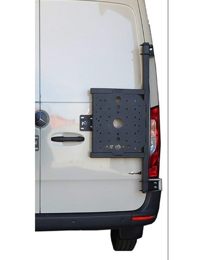 Sprinter 907 Porte tout sur porte arrière droite (porte à 180°)