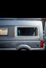 1x universal Verbreiterungsbacke / Ohr zum Querschlafen passend für diverse Vans wie bspw. Mercedes Sprinter, VW Crafter,  X250/290 Ducato und andere