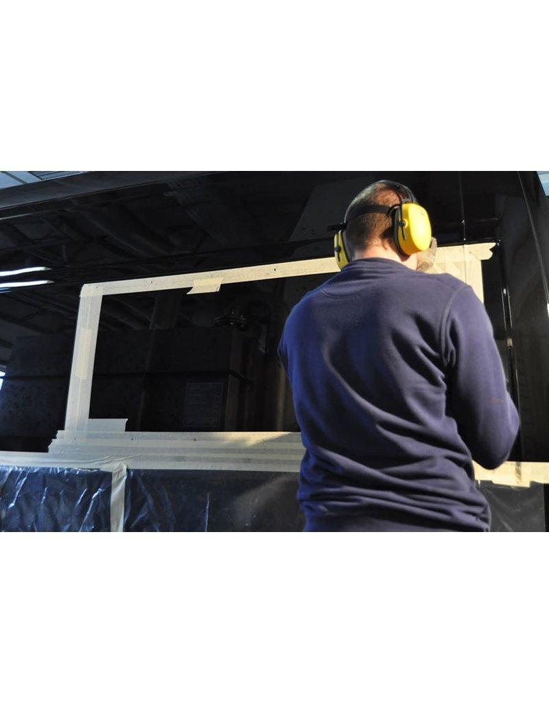2x Joues /oreilles d'élargissement universelles pour un couchage transversal convenant à différentes camionnettes telles que le Mercedes Sprinter, le VW Crafter, le Fiat Ducato X250/290 et autres