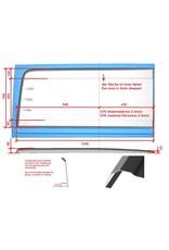 1x Joue/oreille d'élargissement côté DROITE pour Sprinter 906/907 / VW Crafter