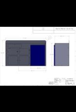 VAN COMPASS MODULE DE CUISINE UNIVERSELLE 112x51x86 cm