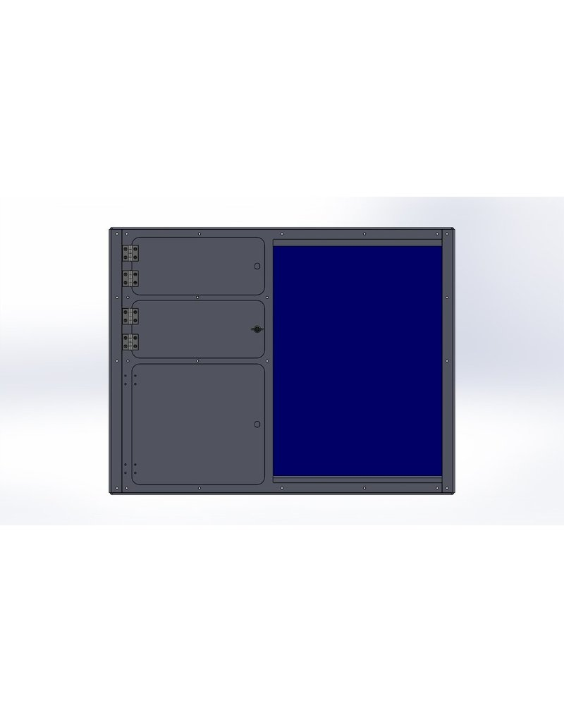 VAN COMPASS MODULE DE CUISINE UNIVERSELLE 145x51x86 cm