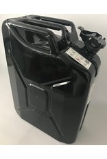 jerrycan, 20 litres, steel, black