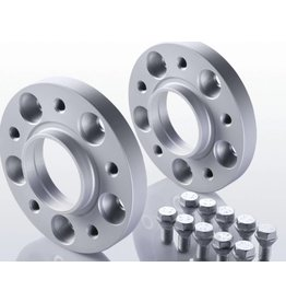2 wheel spacers 15 mm (aluminum)  5x120 M14x1,5 for MAN TGE, VW Crafter >2017