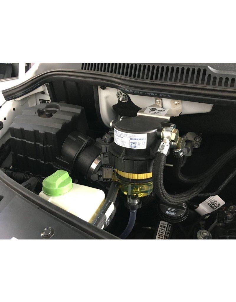 TERRANGER Komplettkit Dieselfilter mit Wasserabscheider, für Volkswagen T6 Tdi