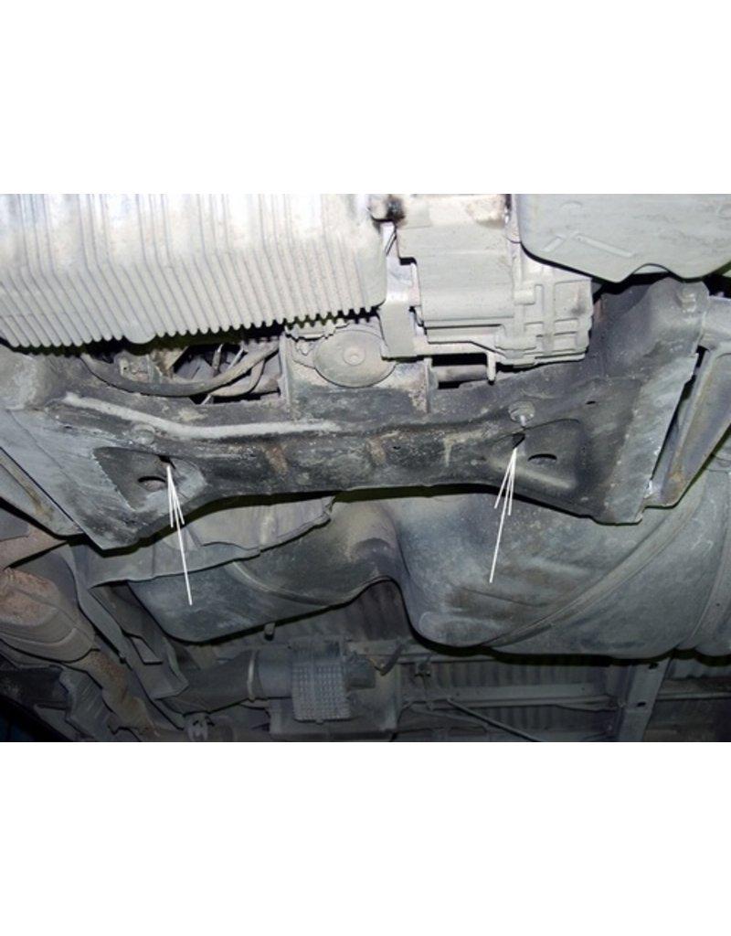 Blindage moteur/transmission pour VW T4, acier