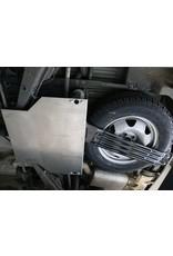 VW T6 SEIKEL blindage NEZ DE PONT ARRIÈRE en alu 5 mm pour véhicules sans kit de rehausse